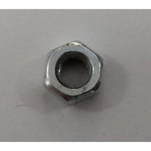 Гайка 6х3мм, резьба M4, оцинкованная сталь