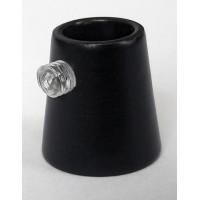 Держатель провода L=15мм, М10х1, цвет черный, артикул FN15 BL