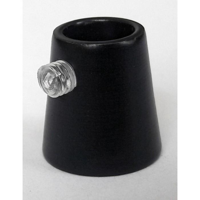 1Держатель провода L=15мм, М10х1, цвет черный, артикул FN15 BL