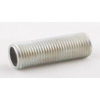 Трубка сталь оцинкованная с резьбой M10 x1 L=75mm