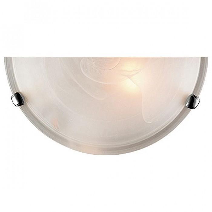 1Настенный светильник 053 хром Sonex полукруглой формы