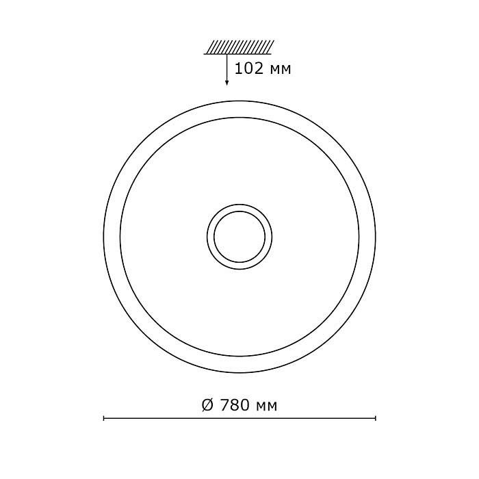 2Светодиодный накладной светильник 2054/ML Сонекс