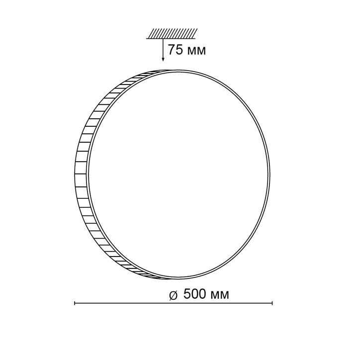 2Светодиодный накладной светильник 2078/EL Сонекс