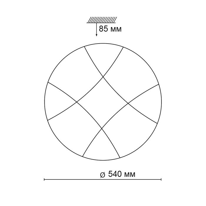 2Светодиодный накладной светильник 2087/EL Сонекс