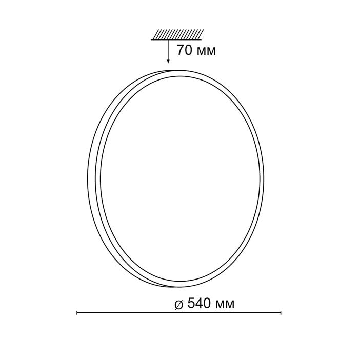 2Светодиодный накладной светильник 2089/EL Сонекс