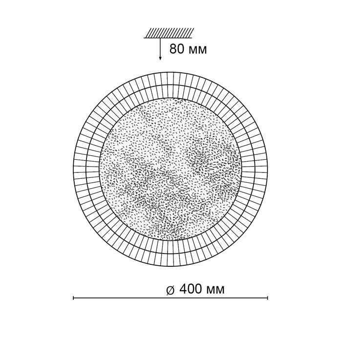 2Светодиодный накладной светильник 2092/DL Сонекс