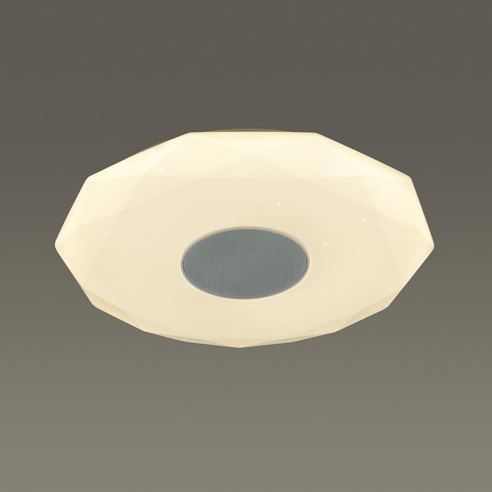 2Светильник с пультом, RGB подсветкой и динамиком 4628/DL Сонекс