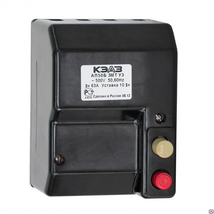 1Автоматический Выключатель АП50Б З МТ-10IH 63А