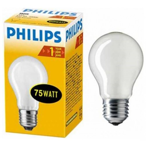 Лампа Stan 75W E27 230V A55 FR PHILIPS