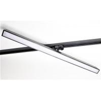 6012 TR-ЭКО-60-12-4K черный Светильник трековый однофазный линейный