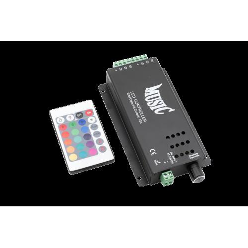 000935 LED RGB аудиоконтроллер Music 12 Вольт 120Вт