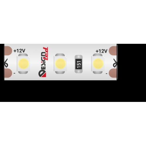 002369 Лента светодиодная LUX, 3528, 120 LED/м, 9,6 Вт/м, 12В, IP65, Нейтральный белый (4000K)