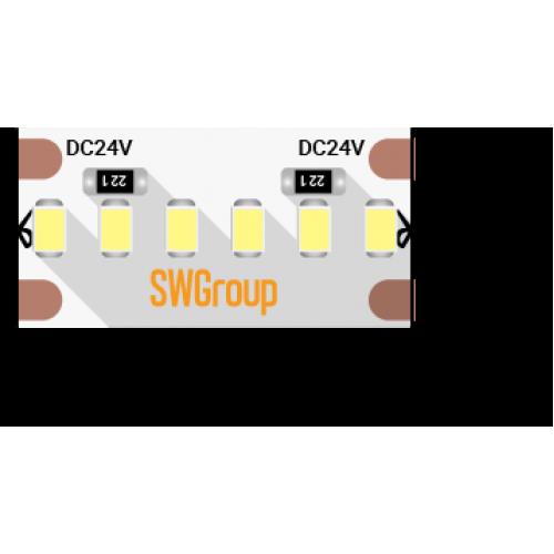 003602 Лента светодиодная стандарт 2216, 300 LED/м, 19,4 Вт/м, 24В, IP20, Цвет: Холодный белый