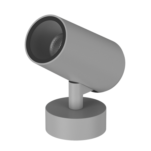 003753 Светильник накладной светодиодный DL-LOE-2012A-9-GR-WW