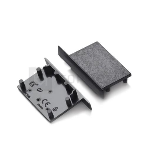 V4930002 VARIO30-07 Заглушка для алюминиевого профиля Topmet черная