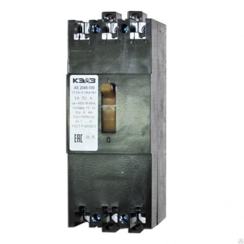 Выключатель автоматический АЕ2056М-100-50А