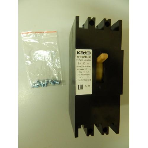 Выключатель автоматический АЕ2056М-100-80А