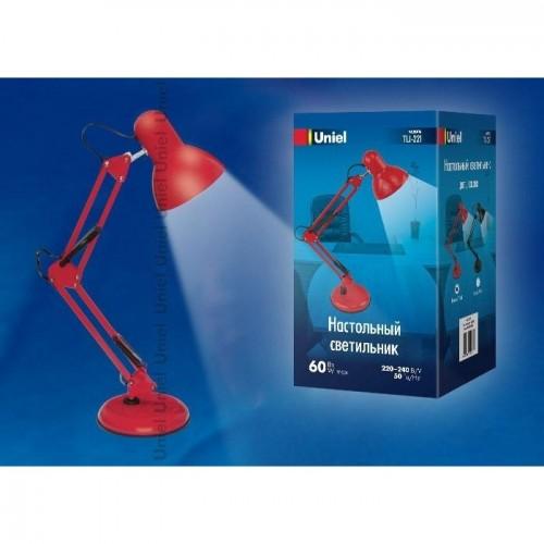 TLI-221 RED E27 Светильник настольный Uniel