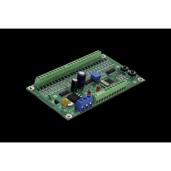 2Контроллер подсветки ступеней КАП-32 плата, 24 канала, 4А, 12 Вольт