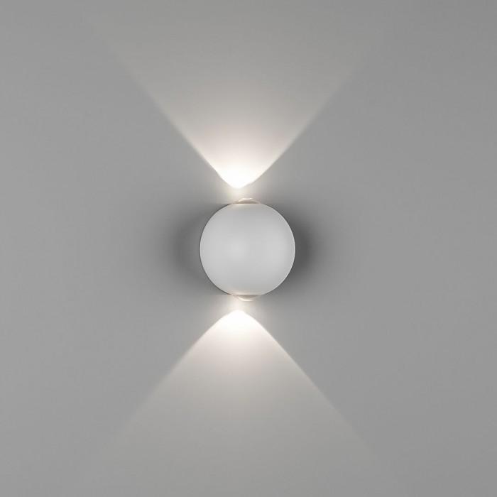 1Настенный светильник SFERA-SBL, белый, 6Вт, 3000K, IP54, GW-A161-2-6-WH-WW