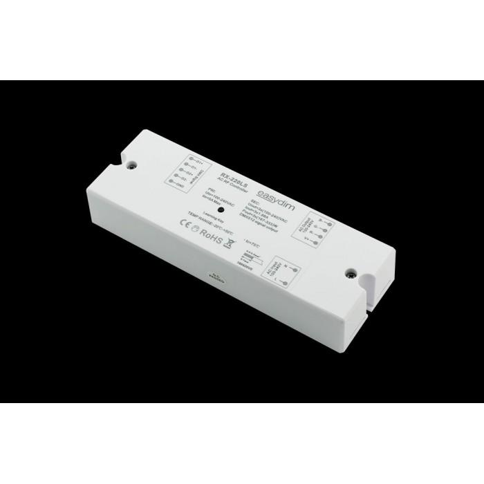 1Приемник-контроллер RX-220LS для подключения высоковольтной светодиодной ленты (Ленты 220В). До 1000вт.