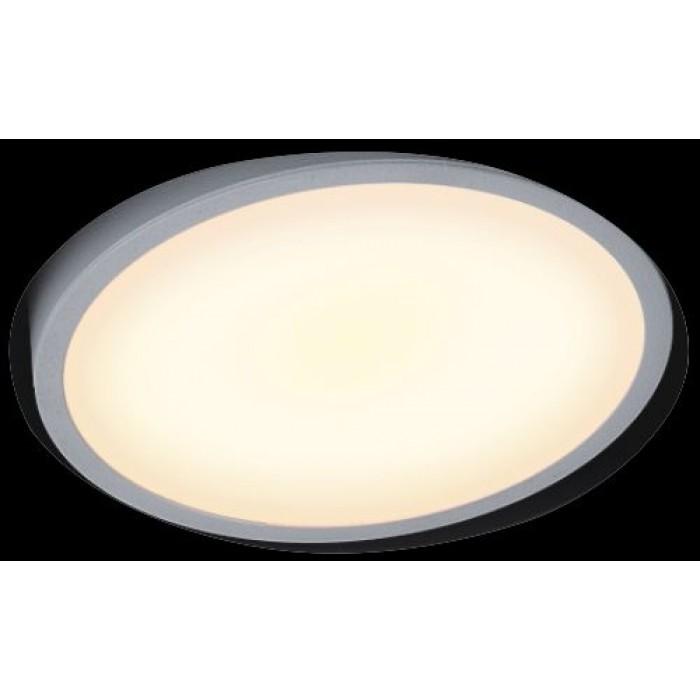 1Светильник светодиодный потолочный встраиваемый наклонный, серия FA, белый, 5,8Вт, IP20, Теплый белый (3000К)