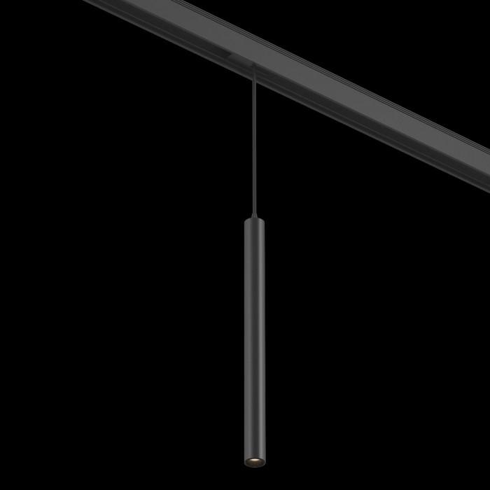2Подвесной трековый светильник SY 7W черный 3000К SY-601243-BL-7-36-WW