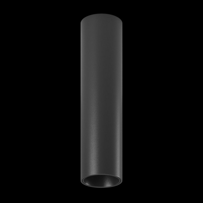 1Светильник MINI VILLY M, потолочный накладной, 9Вт, 3000K, черный