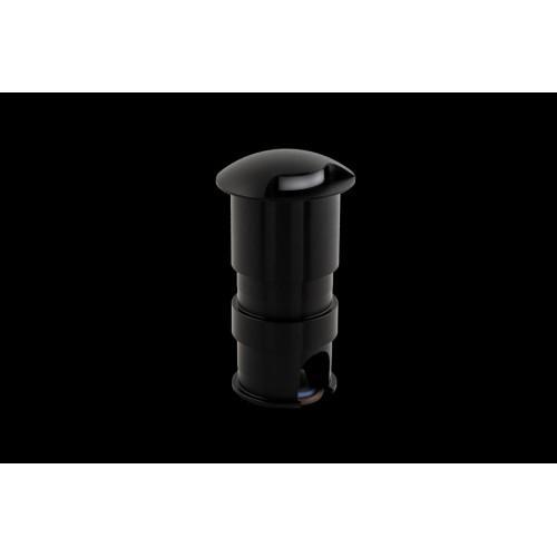 003300 Бра встраиваемое для подсветки лестницы/пола COIN-1, черный, 1Вт, 4000K, IP20, GW-812-1-1-BL-NW DesignLed