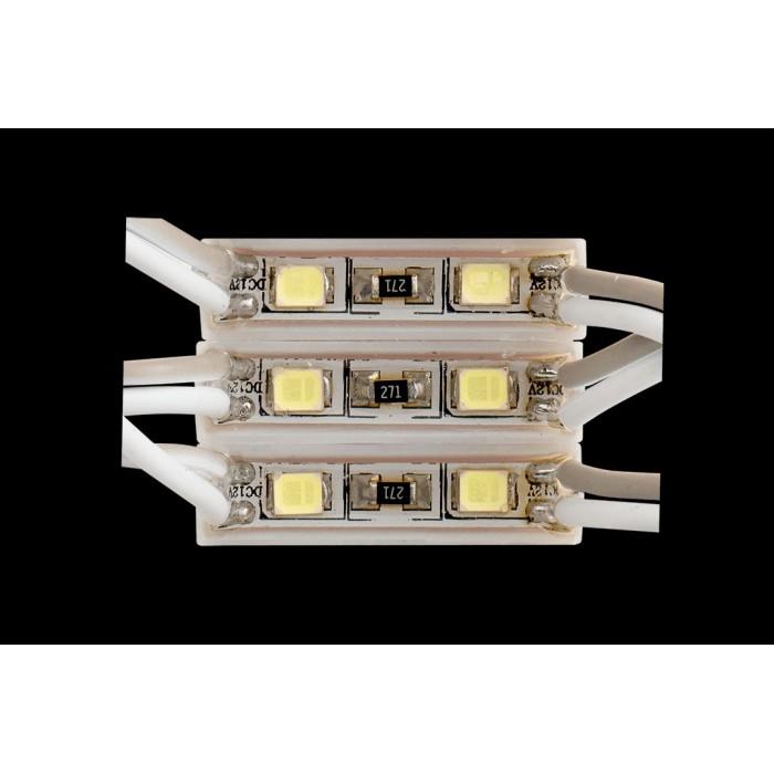 2Модуль светодиодый SWG, 2LED, 0,26Вт, 12В, IP65, Цвет: 6000-6500 К Холодный белый, провод 9см