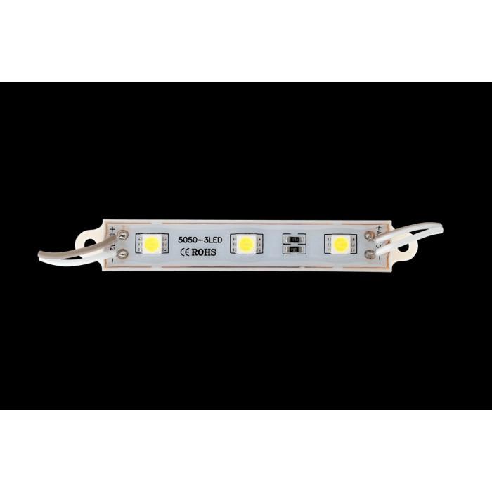 2Модуль светодиодый SWG, 3LED, 0,72Вт, 12В, IP65, Цвет: 6000-6500 К Холодный белый, провод 15см