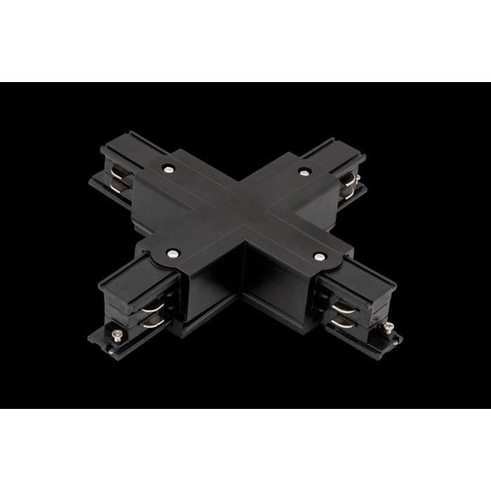 1004390 X коннектор трековых систем, черный