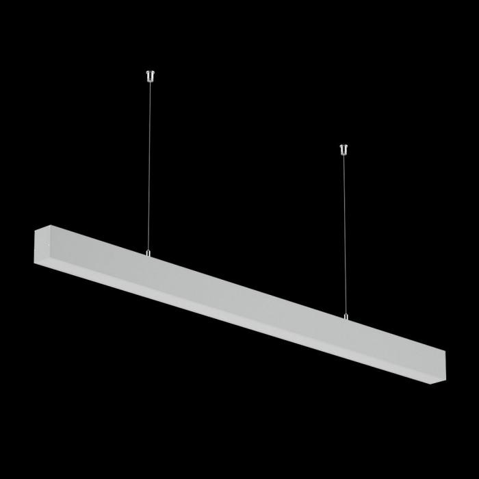 2Светильники из профиля I-Type-5050-12-32-WW: Профиль LS 5050, Лента 4x DSG 2835 WW 280L-V24-IP33, 700LED, 26W/m, LUX, подвесы. Без блока питания.