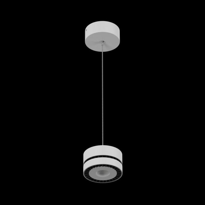 1Светильник светодиодный подвесной IMD-PA-0100CR-WH-WW, белый, 12Вт, Теплый белый (3000К)