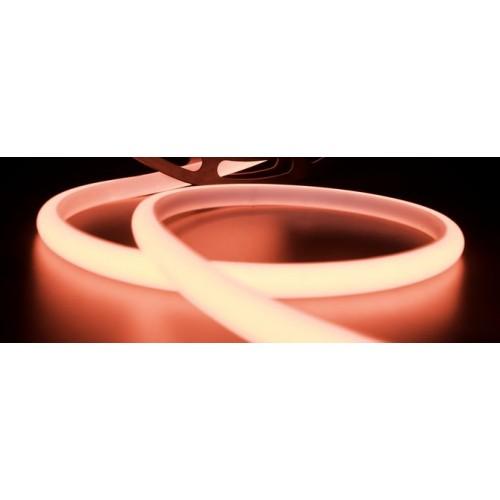 Термолента светодиодная SMD 2835, 180 LED/м, 12 Вт/м, 24В, IP68, Цвет: Красный