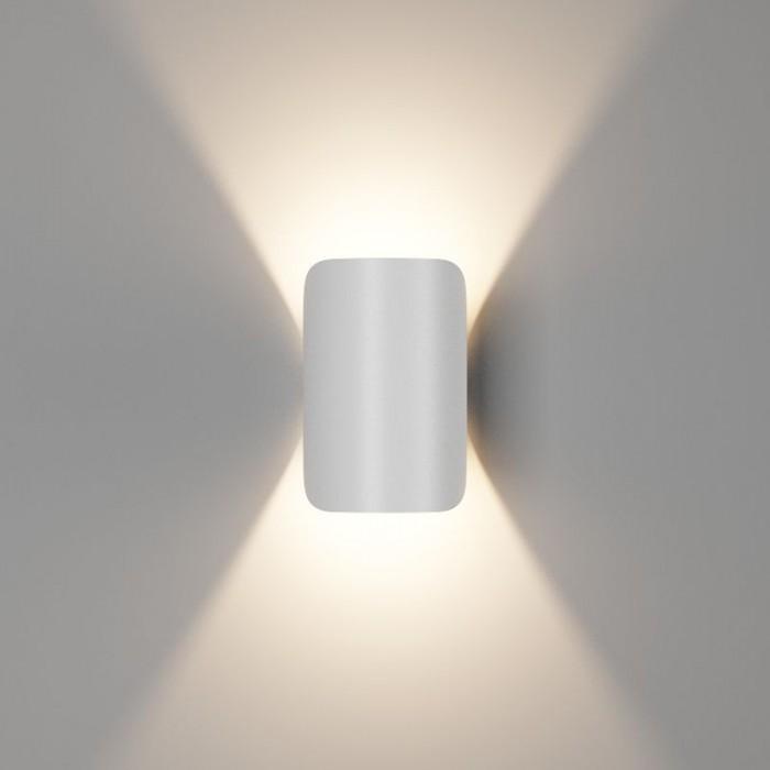 1Настенный светильник VENTURA, матовый белый, 6Вт, 3000K, IP54, GW-A108-6-WH-WW