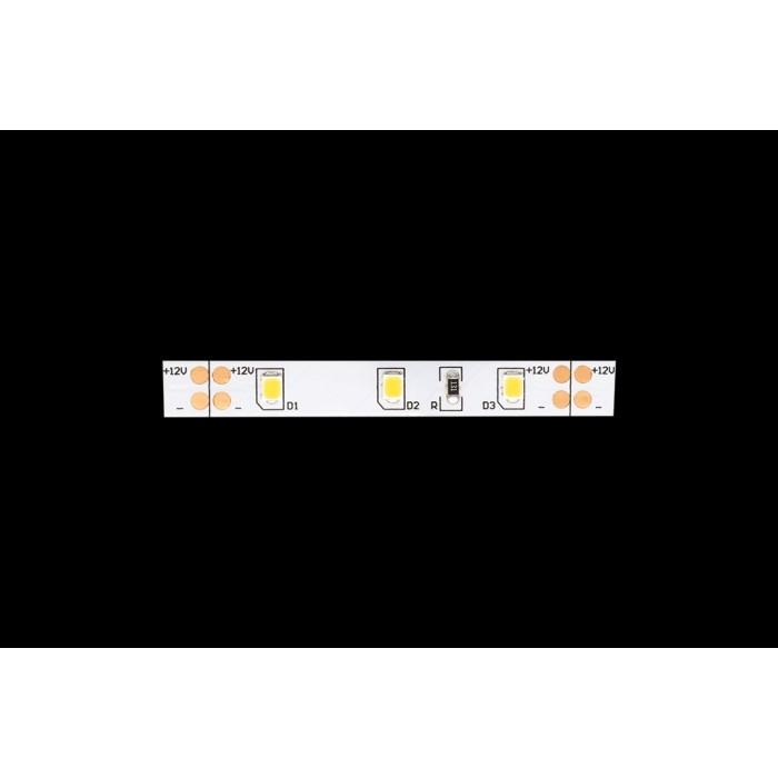 2Лента светодиодная стандарт 2835, 60 LED/м, 6,3 Вт/м, 12В, IP20, Цвет: Нейтральный белый