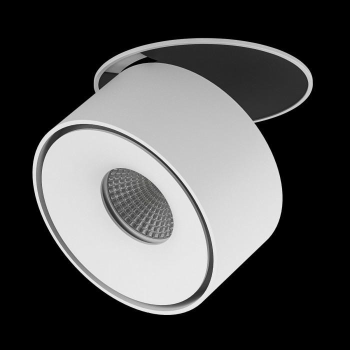 2Светильник светодиодный потолочный встраиваемый, серия GW, белый, 15Вт, IP20, Нейтральный белый (4000К)