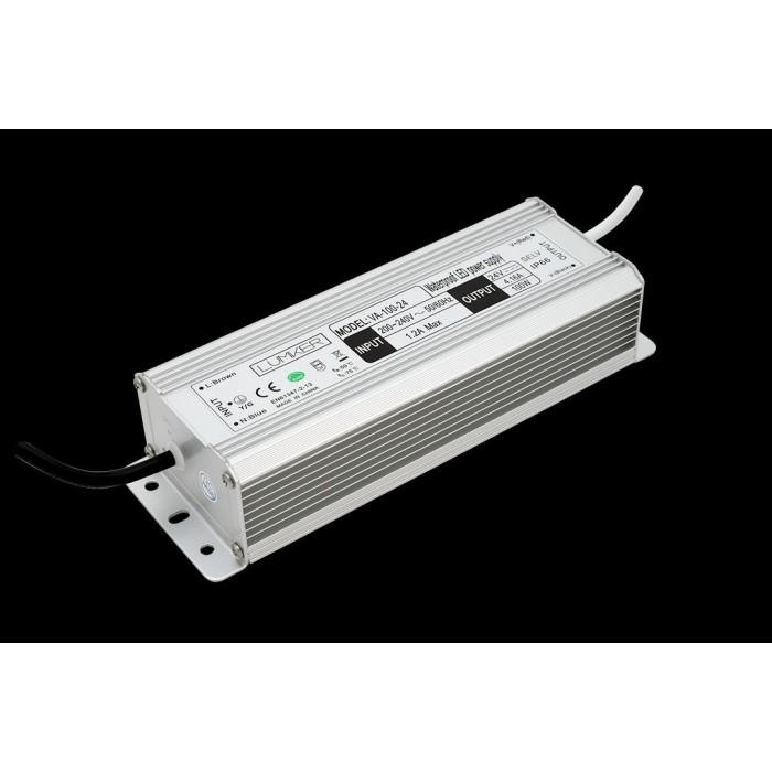 2Блок питания для светодиодной ленты LUX влагозащищенный, 24В, 100Вт, IP67