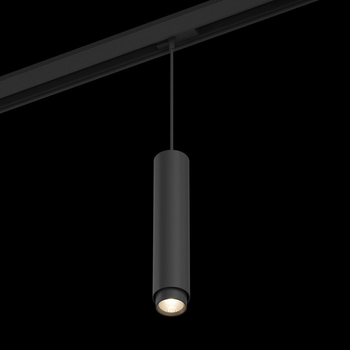 1Подвесной трековый светильник SY 20W черный 3008К SY-601242-BL-20-WW