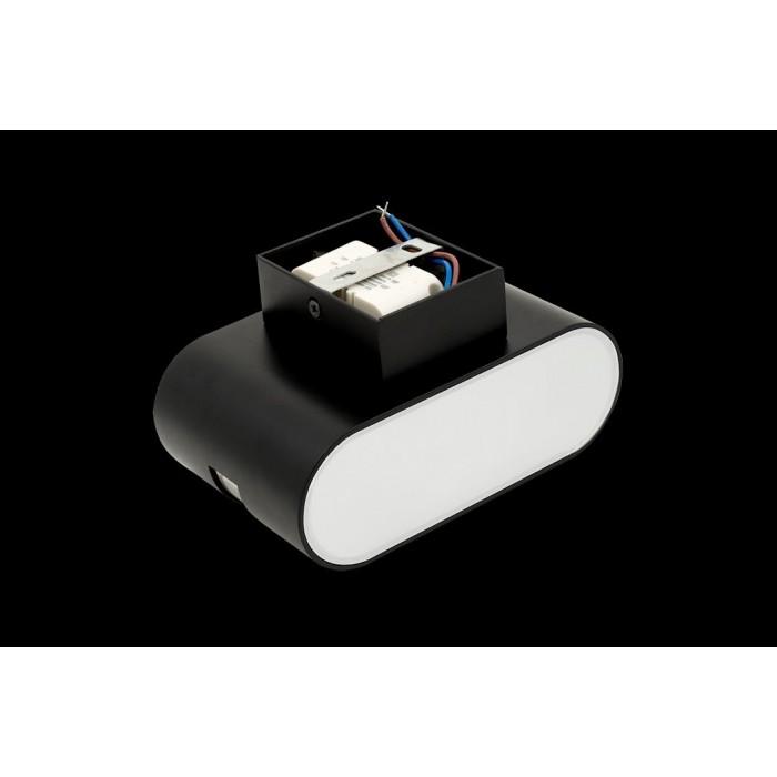 2Бра декоративное RAZOR LN, черный, 6Вт, 4000K, IP20, GW-1557-6-BL-NW