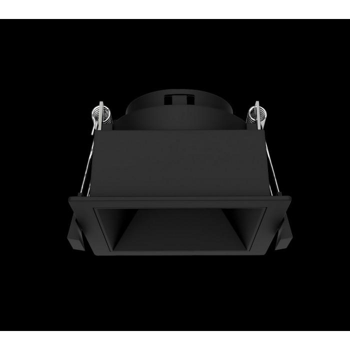 1Светильник под лампу Gu10 потолочный встраиваемый, серия DL-MJ-1034, черный, 35 (max)Вт, IP20