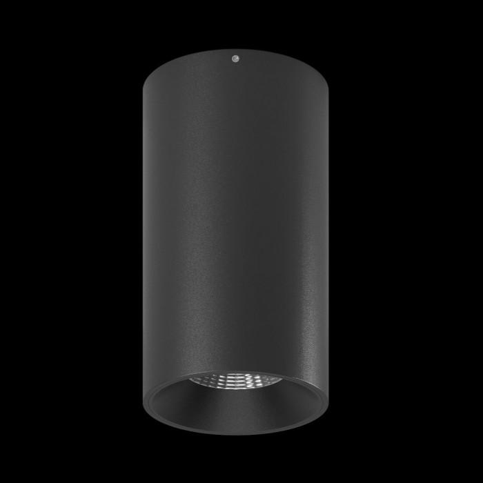 1Светильник VILLY SHORT укороченный, потолочный накладной, 15Вт, 3000K, черный