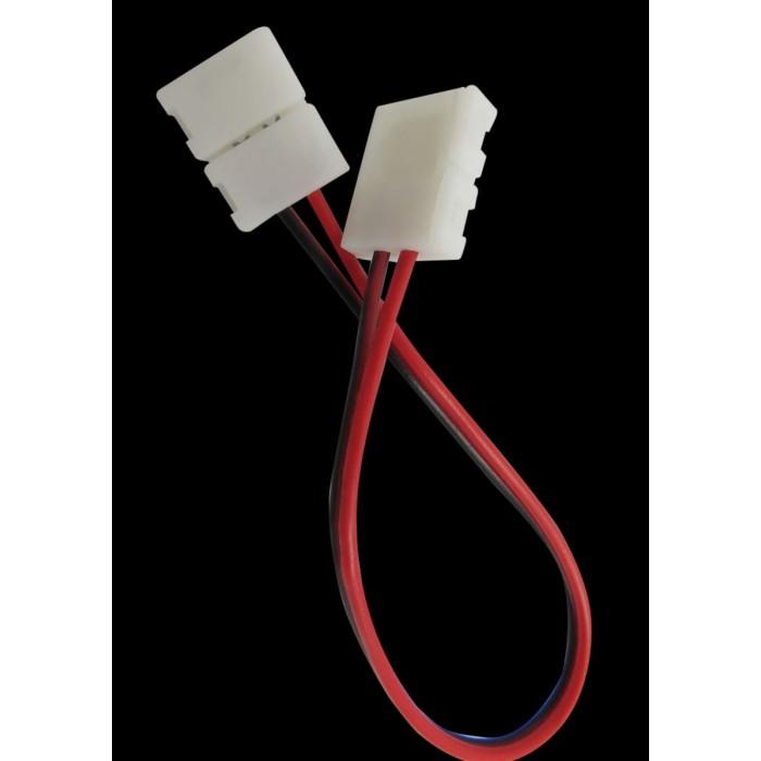 2Коннектор для ленты 3528 двуxсторонний (ширина 8 мм,длина провода 15 см )