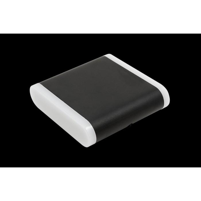 1Настенный светильник BRAVO, черный, 6Вт, 3000K, IP54, GW-6080S-6-BL-WW