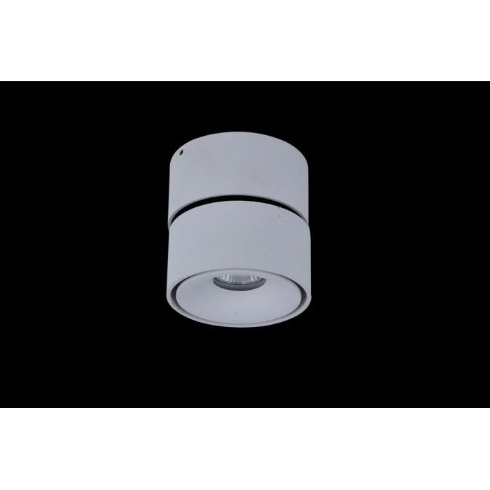 2Светильник светодиодный потолочный накладной поворотный, серия WL, белый, 12Вт, IP20, Теплый белый (3000К)