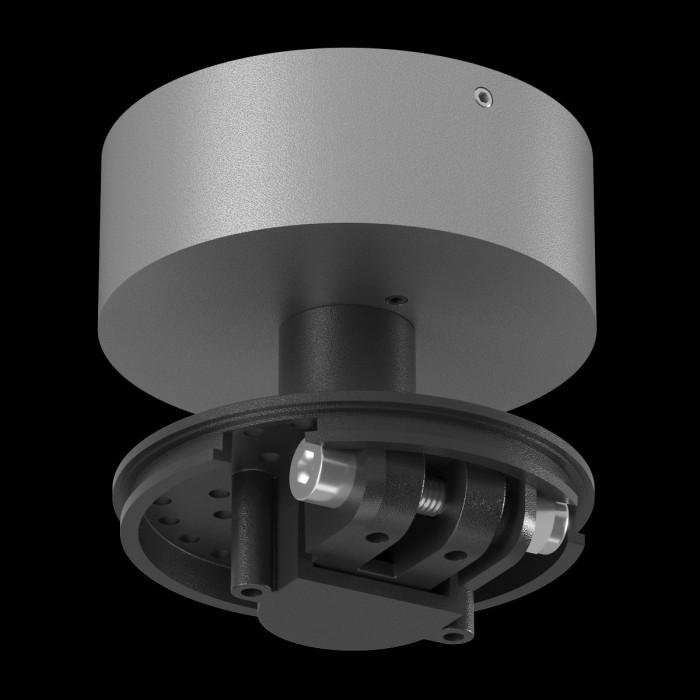 1004294 Крепление сменное М3 для светильников VILLY, поворотное накладное, цвет серебряный 1