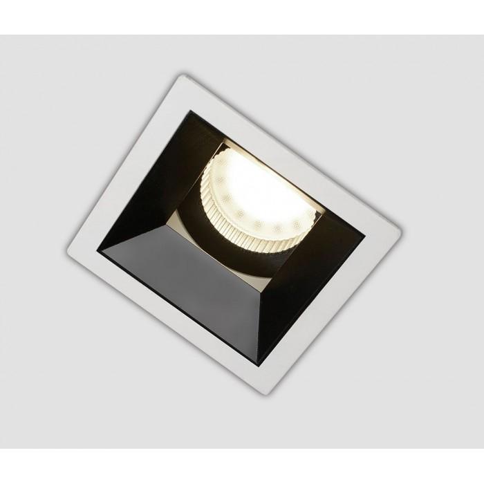 2Светильник под лампу Gu10 потолочный встраиваемый, серия DL-MJ-1034, белый, 35 (max)Вт, IP20