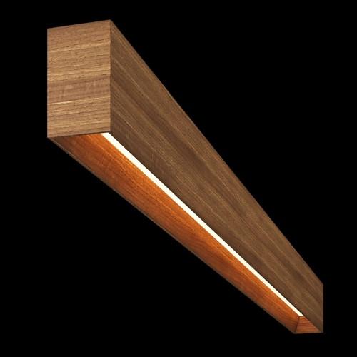 Светильник из массива (грецкий орех) длина 1800мм 3000К, 43,2Вт