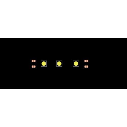 Лента светодиодная эконом 5050, 60 LED/м, 14,4 Вт/м, 12В, IP20, Цвет: Красный